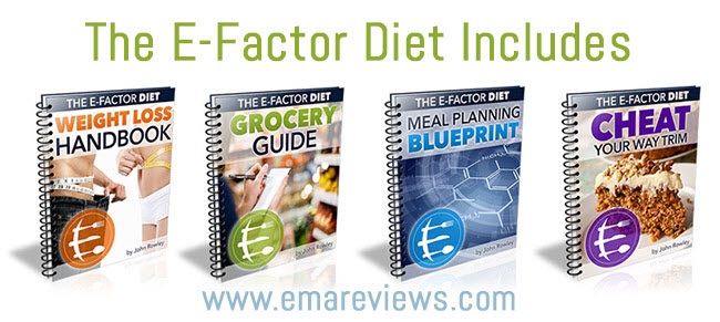 The e-factor diet includes