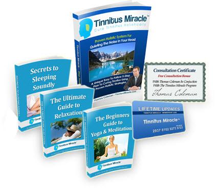 tinnitus miracle discount bonuses