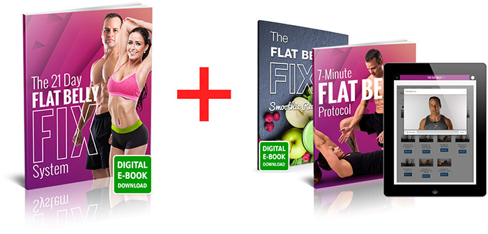 21 day flat belly fix system