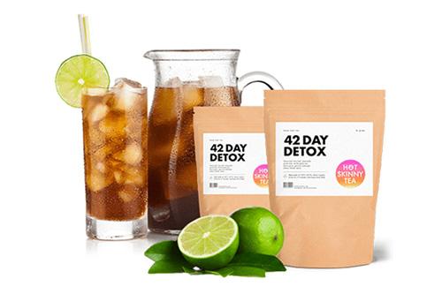lemon detox tea